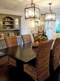 room wicker chairs dining room decorating idea inexpensive