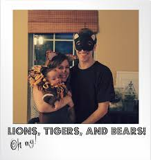 lions bears thanksgiving hey little momma lions tigers and bears oh my