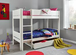 bedrooms for girls with bunk beds tinsley bunk bed with drawer white dreams
