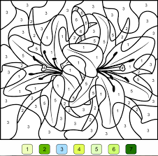 coloriage magique les couleurs l dessincoloriage