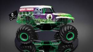 bigfoot monster truck wiki image grave digger 2016 jpg monster trucks wiki fandom