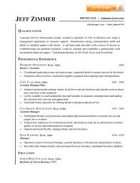 Customer Service Resume Example Pinterest