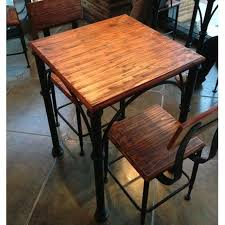 iron home coffee table dinette combination of solid wood dining
