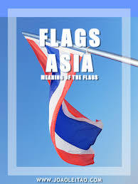 flags of asia meaning of the asian country flags