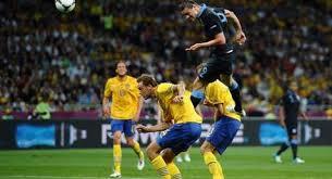 Pertandingan Grup D Swedia vs Inggris