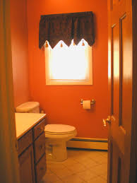 small half bathroom ideas orange bathroom design ideas for small