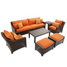 Where To Buy Sofas In Bangalore Amazon Com Rst Brands Deco 8 Piece Sofa And Club Chair Deep