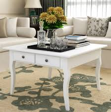 White Furniture For Living Room White Shabby Chic Coffee Table Vintage Retro Living Room Furniture