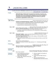 Example Resume Experienced Resume Templates Resume Format For Binuatan Example Resume Product And Market Strategy Analist