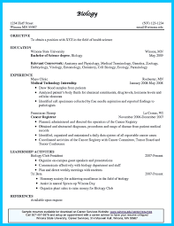 student resume format for campus interview sample resume biology degree frizzigame sample resume biology student frizzigame