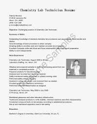 medical lab technician resume sample sample resume for lab assistant research technician resume medical