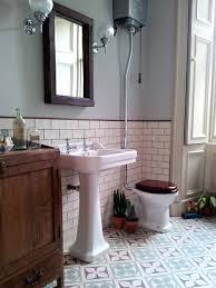 bathroom vintage bathroom artistic color decor fancy to vintage