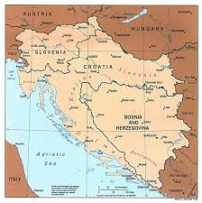 Western Europe Political Map by Large Political Map Of Western Balkans With Major Cities 1997