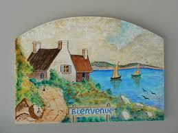 peinture de bord de mer peinture paysage breton en bord de mer
