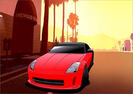 nissan 350z gta v отрисовка машины в стиле gta v u2014 бортжурнал nissan 350z veyron для