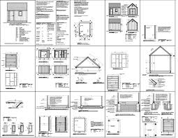 quality shed plans shed plans gambrel
