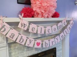 diy baby shower banner home design ideas