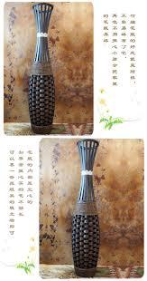 kingart large floor vase big bamboo large floor vase vintage
