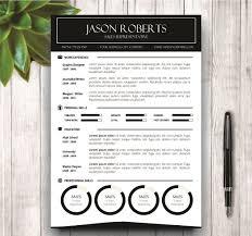 resume paper white or ivory black and white resume template resume templates creative market