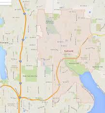 Map Of Washington Cities by Redmond Washington Map