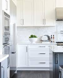 Best  Dark Cabinets White Backsplash Ideas On Pinterest White - White kitchen backsplash ideas