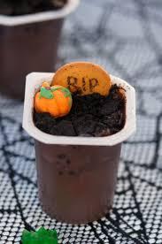 halloween dirt cake graveyard spooky graveyard pudding cups recipe not quite susie homemaker