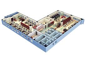 3d floor plan software free with modern office design for 3d floor
