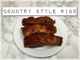 instant pot country style pork ribs youtube