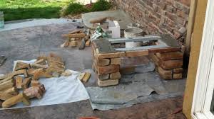 Stone Cladding For Garden Walls by Building Stone Benches Broomfield Landscape Contractor Youtube