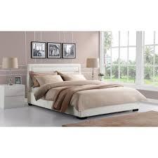 white king bed ella white king platform bed white full size