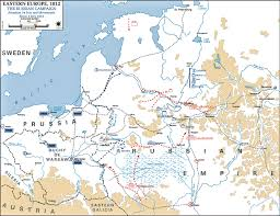 Map Of Russia And Europe by Of The Russian Campaign 1812 July 24