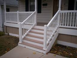 Home Design Ebensburg Pa by Azek Front Porch With Vinyl Railings And Columns In St Louis