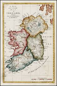 Map Of Ireland And England Ireland And The American Revolution Journal Of The American