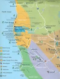 California Maps Campground Map California California Map