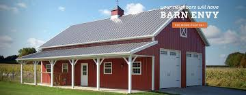 Metal Shop With Living Quarters Floor Plans Barns Great Pictures Of Pole Barns Ideas U2014 Urbanapresbyterian Org