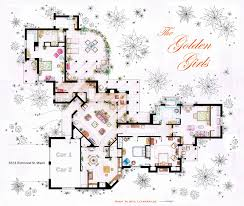 the golden girls house floorplan v 1 by nikneuk on deviantart