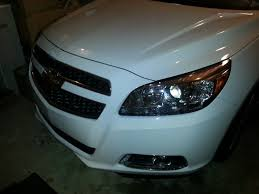 headlight bulb replacement 2013 malibu youtube