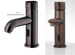 Oiled Rubbed Bronze Kitchen Faucets Oil Rubbed Bronze Motion Sensor Faucets