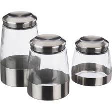 Glass Canisters For Kitchen Kitchen Collection Hammered Glass Large Canister Jar With Scoop