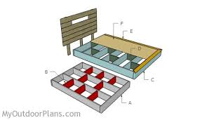 King Size Floating Platform Bed Plans by Floating Bed Frame Plans Myoutdoorplans Free Woodworking Plans