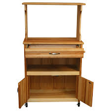 Kitchen Cart With Storage by Furniture Microwave Carts With Storage And Towel Bar For Kitchen