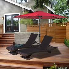 Ace Hardware Patio Umbrellas by Amazon Balichun 9 Ft Patio Umbrella Market Umbrella Wine Red