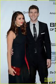 Nina Dobrev  amp  Boyfriend Austin Stowell Make First Official Red