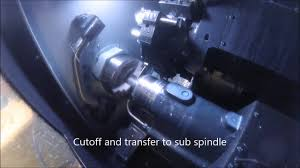 cnc turning with transfer to sub spindle youtube