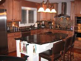 kitchen island black granite kitchen island countertop ideas