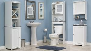 Bathroom Wall Shelving Ideas by Bathroom Furniture Bath Cabinets Over Toilet Cabinet And More