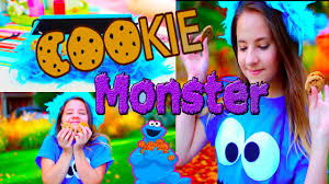 Cookie Monster Halloween Costumes by Easy Halloween Costume For Girls Diy Cookie Monster Costume Youtube