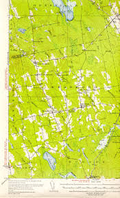Map Of The New England States by Historic Maps Of Corinth Maine