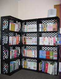 Wooden Crate Bookshelf Diy by Best 25 Plastic Milk Crates Ideas On Pinterest Milk Crates
