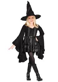 Halloween Kids Witch Makeup by Girls Black Witch Costume Witch Costumes Witches And Wicked